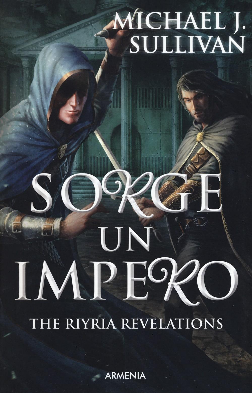Copertina italiana di Sorge un Impero di Michael J. Sullivan