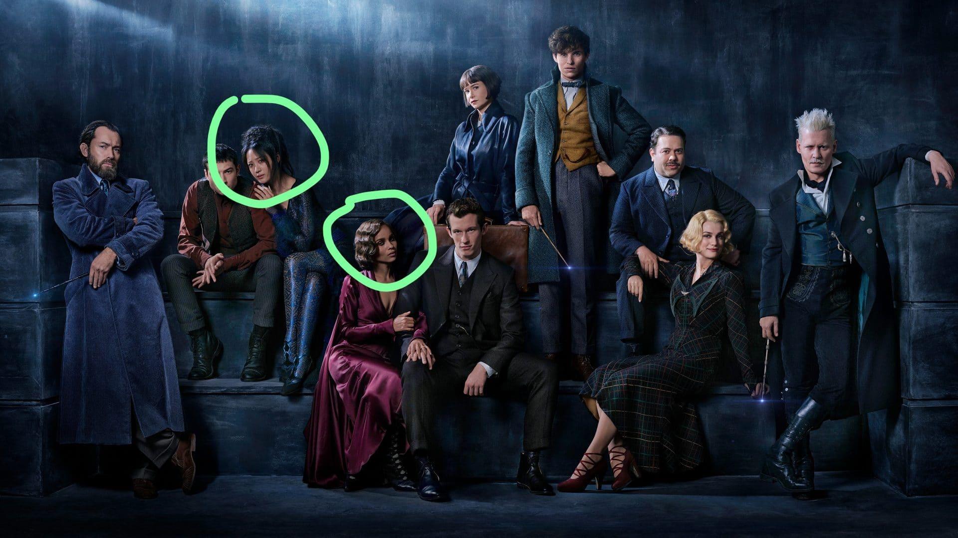 Due personaggi di colore su dieci: diversità!