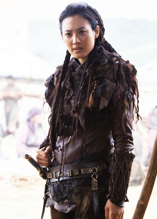 Claudia Kim come Khutulun, in Marco Polo